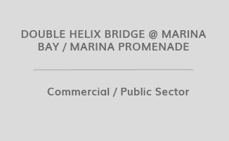 DOUBLE HELIX BRIDGE @ MARINA BAY / MARINA PROMENADE