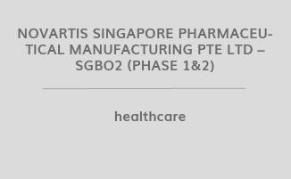 Novartis Singapore Pharmaceutical Manufacturing Pte Ltd – SGBO2 (Phase 1&2)