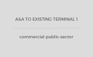 A&A TO EXISTING TERMINAL 1